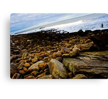 Tricky, Slippery and Classic UK Point Canvas Print