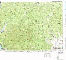 USGS Topo Map Oregon Nehalem River 283108 1979 100000 by wetdryvac