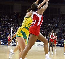 Netball. England v Australia 2 by gpedliham