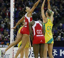 Netball. England v Australia 3 by gpedliham