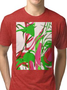 Abstract Splash Tri-blend T-Shirt