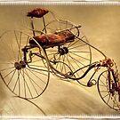 Antique Bike by Kenneth Hoffman