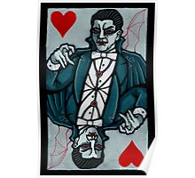 Count Dracula, Vampire King of Hearts Poster