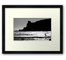 Looking back at The Cove Framed Print