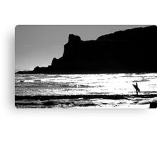 Looking back at The Cove Canvas Print