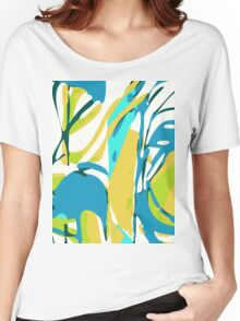 Abstract Splash Women's Relaxed Fit T-Shirt