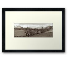 """""""Drive by Shooting"""" Framed Print"""