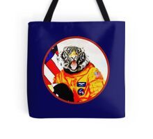 Astronaut Tiger Tote Bag