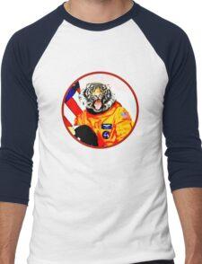 Astronaut Tiger Men's Baseball ¾ T-Shirt