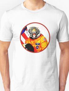 Astronaut Tiger Unisex T-Shirt