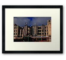 """A Detroit ' Drive-by""""  Framed Print"""