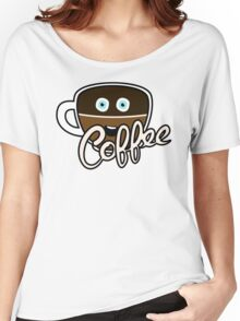 Cute Coffee Addict Women's Relaxed Fit T-Shirt