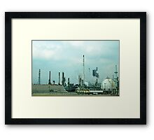Freeway blues Framed Print