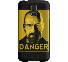 Danger White Samsung Galaxy Case/Skin