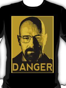 Danger White T-Shirt