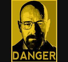 Danger White Unisex T-Shirt