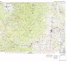 USGS Topo Map Oregon Yamhill River 283131 1980 100000 by wetdryvac