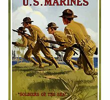 US Marines -- Soldiers Of The Sea by warishellstore
