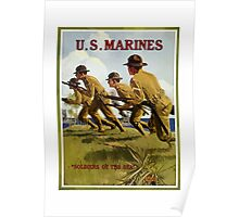 US Marines -- Soldiers Of The Sea Poster