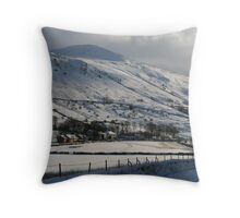 Vale of Keswick, Cumbria Throw Pillow