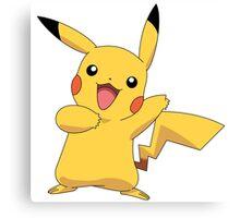 Pikachu - pokemon  Canvas Print