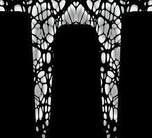 Gothic Web Side Stripe Leggings by Ra12