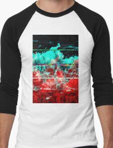 wavves Men's Baseball ¾ T-Shirt