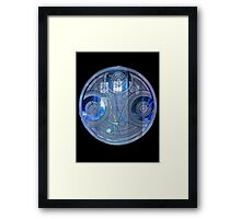 Time Lord Seal Framed Print
