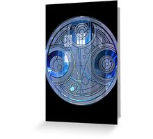 Time Lord Seal Greeting Card