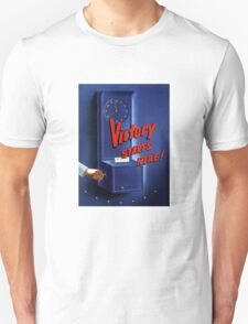 Victory Starts Here! -- WWII Unisex T-Shirt