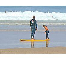 Surf Lesson Photographic Print