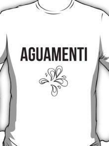 aguamenti - harry potter spell [monochrome] T-Shirt