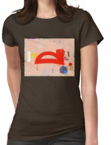 """Thai Characters """"ี"""" Womens Fitted T-Shirt"""