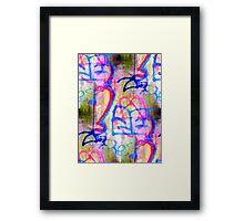 GRAFITI Framed Print