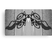 dull butterfly Canvas Print