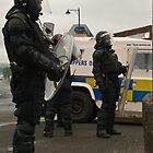Riot police in Belfast by fatty-arbuckle