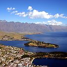 Queenstown, The Remarkables. by John Dalkin