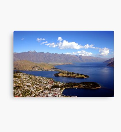 Queenstown, The Remarkables. Canvas Print