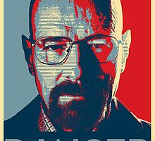 Walter White For President by galaxysalvo