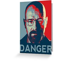 Walter White For President Greeting Card
