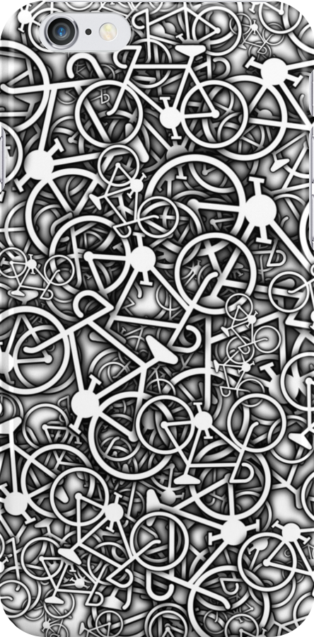 Tangled Up In Bicycles by Ra12