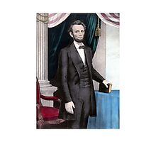 President Abraham Lincoln Photographic Print
