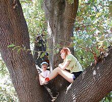 in the acorn tree by Naia
