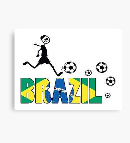 GO GO Brazil Canvas Print