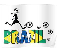 GO GO Brazil Poster
