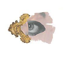 Rococo Eye Photographic Print