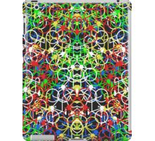 Lotsa Bikes - Multi Colour iPad Case/Skin