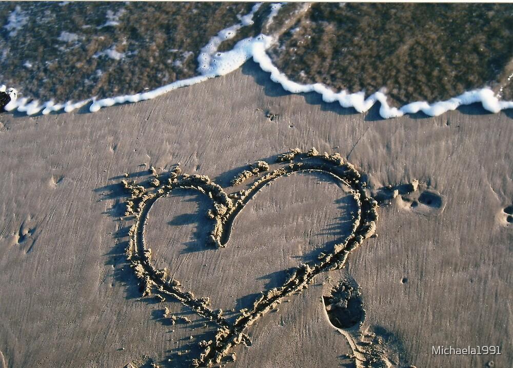 Heart in Sand by Michaela1991