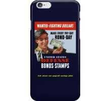 Wanted - Fighting Dollars - WW2 iPhone Case/Skin