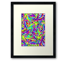 Trippy Swirls Framed Print